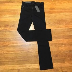 NWT Helmut Lang Cropped Skinny Flare 25